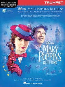 Mary Poppins Returns for Trumpet - Book/Online Audio