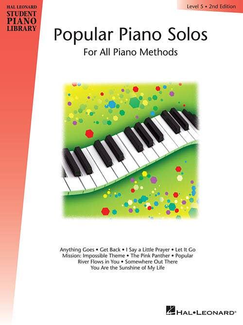 hlspl popular piano solos book 5 /  (HAL LEONARD)