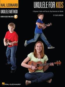Hl Ukulele For Kids BK/AUDIO ACCESS / JOHNSON CHAD (HAL LEONARD)
