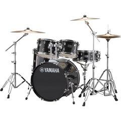 Yamaha Rydeen 5pc Fusion Drum Kit - Black Glitter