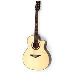 Hofner Grand Auditorium Acoustic / Electric Guitar (GA07)