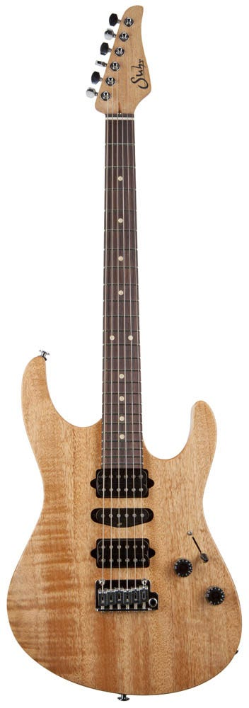Suhr Modern Satin HSH Guitar w/Deluxe Gigbag - Natural Satin