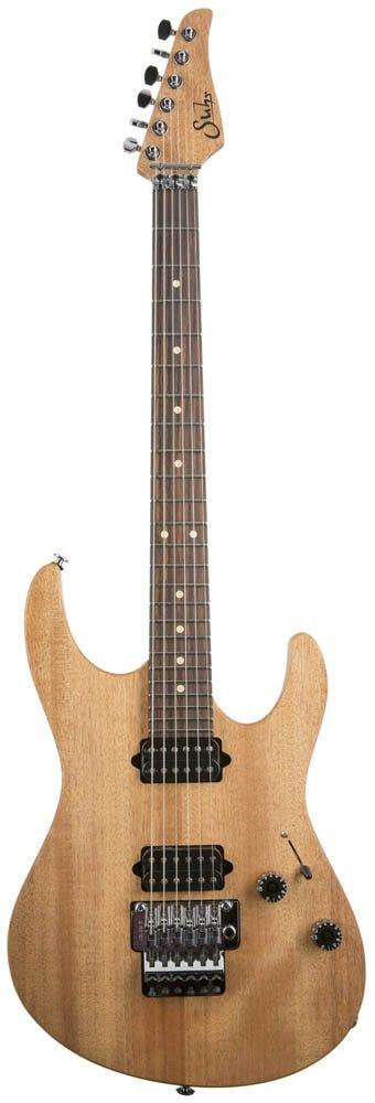 Suhr Modern Satin HH FR Guitar w/Deluxe Gigbag - Natural Satin