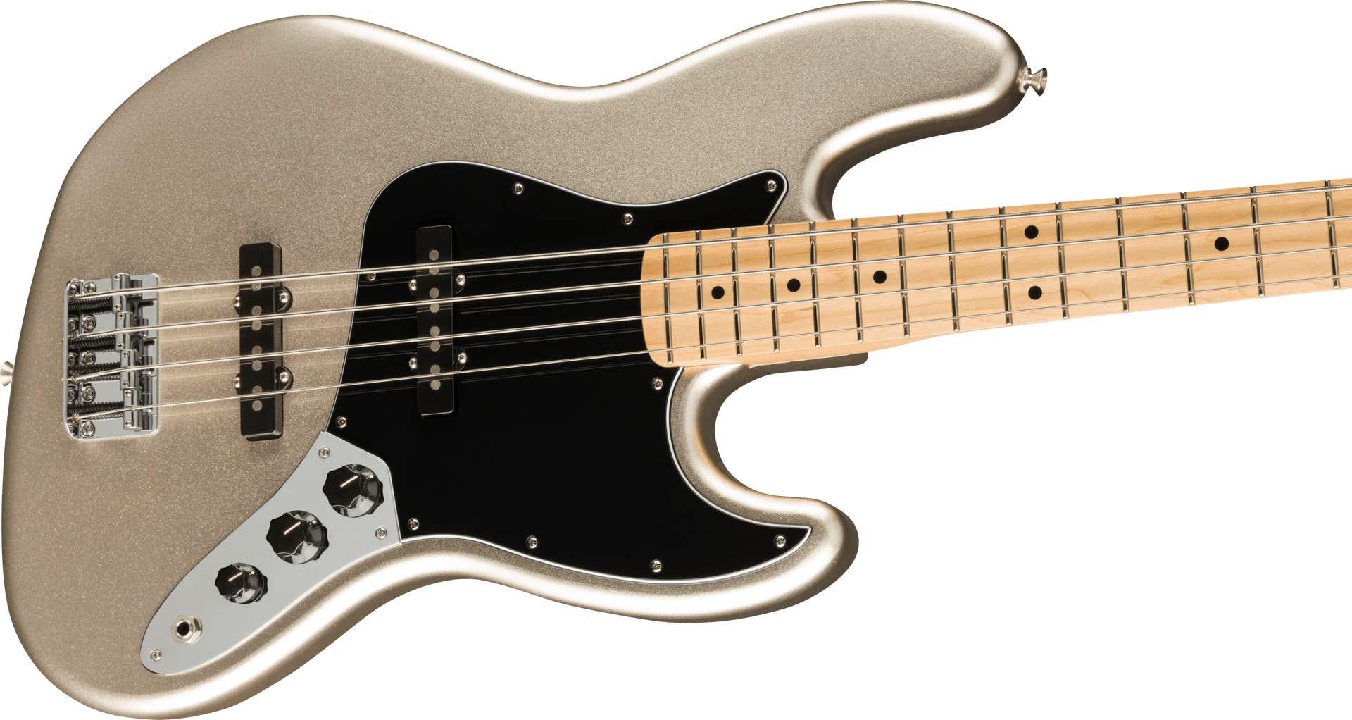 Fender 75th Anniversary Jazz Bass w/Gigbag - Diamond Anniversary