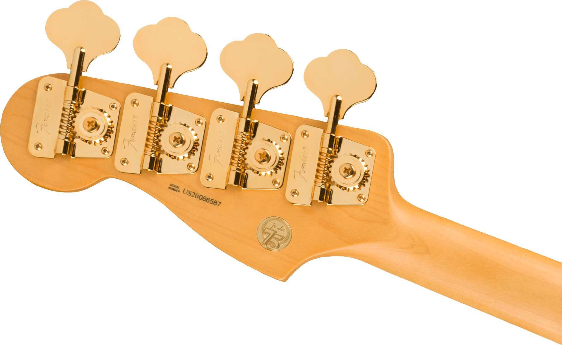 Fender 75th Anniversary Commemorative Precision Bass w/Case - 2-Color Bourbon Burst (Limited)