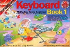 PROGRESSIVE Keyboard Method for Young Beginners BOOK 1 BOOK/ONLINE MEDIA / SCOTT TURNER (KOALA)