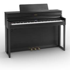 Roland HP704 SuperNatural Digital Piano w/matching bench - Charcoal