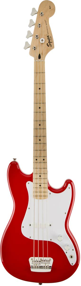 Squier Affinity Bronco Shortscale Bass - Torino Red