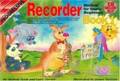 Progressive Recorder Method for Young Beginners Book 1 Book and Online Audio (Koala)