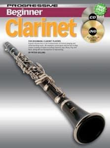 PROGRESSIVE BEGINNER CLARINET BK/CD /  (KOALA)