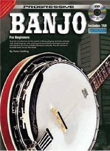 progressive banjo includes TAB BK/CD