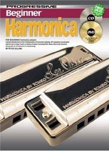 PROGRESSIVE BEGINNER HARMONICA BOOK/ONLINE MEDIA  (KOALA)
