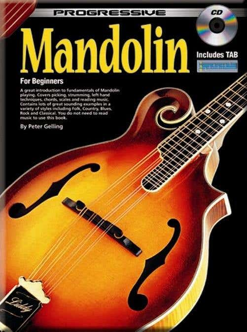 progressive mandolin BK/CD 69261 /  (KOALA)