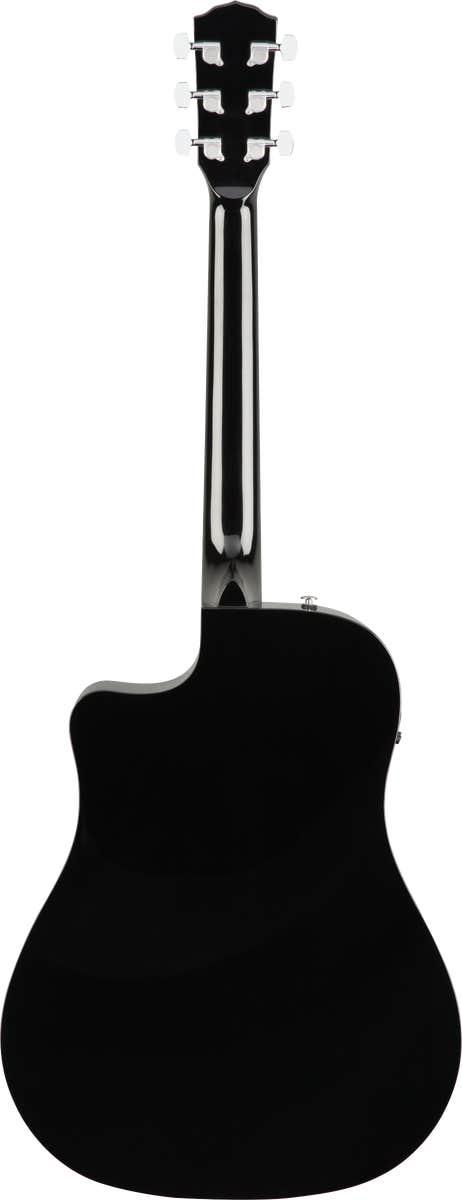 Fender CD-60SCE Acoustic Electric Guitar - Black