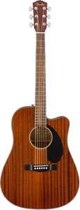 Fender CD-60SCE Mahogany Acoustic Electric Guitar
