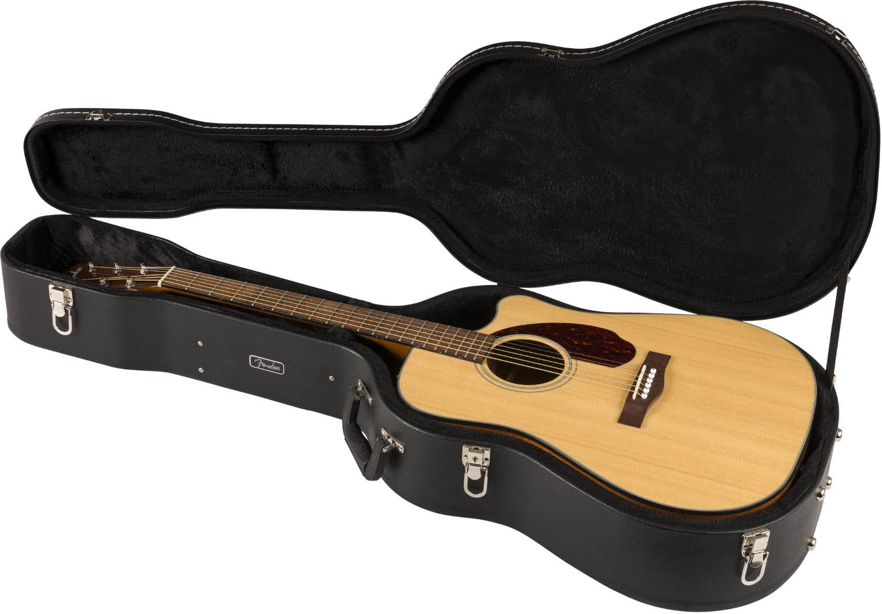 Fender CD-140SCE Acoustic Electric Guitar w/Case
