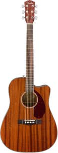 Fender CD-140SCE Acoustic Electric Guitar w/Case - Mahogany