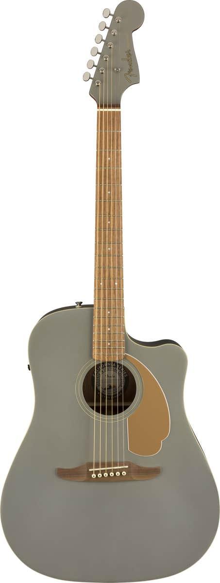 Fender Redondo Player Acoustic Electric Guitar - Slate Satin