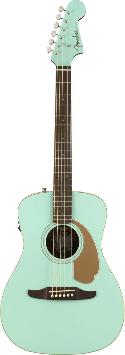 Fender Malibu Player Acoustic Guitar - Aqua Splash