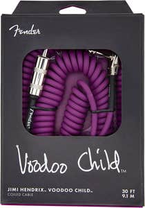 Fender Hendrix Voodoo Child Instrument Cable - Purple