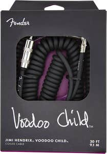 Fender Hendrix Voodoo Child Instrument Cable - Black