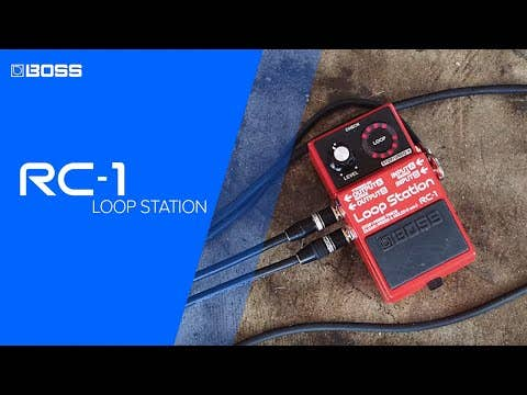 Boss RC-1 Loop Station Pedal (RC1)