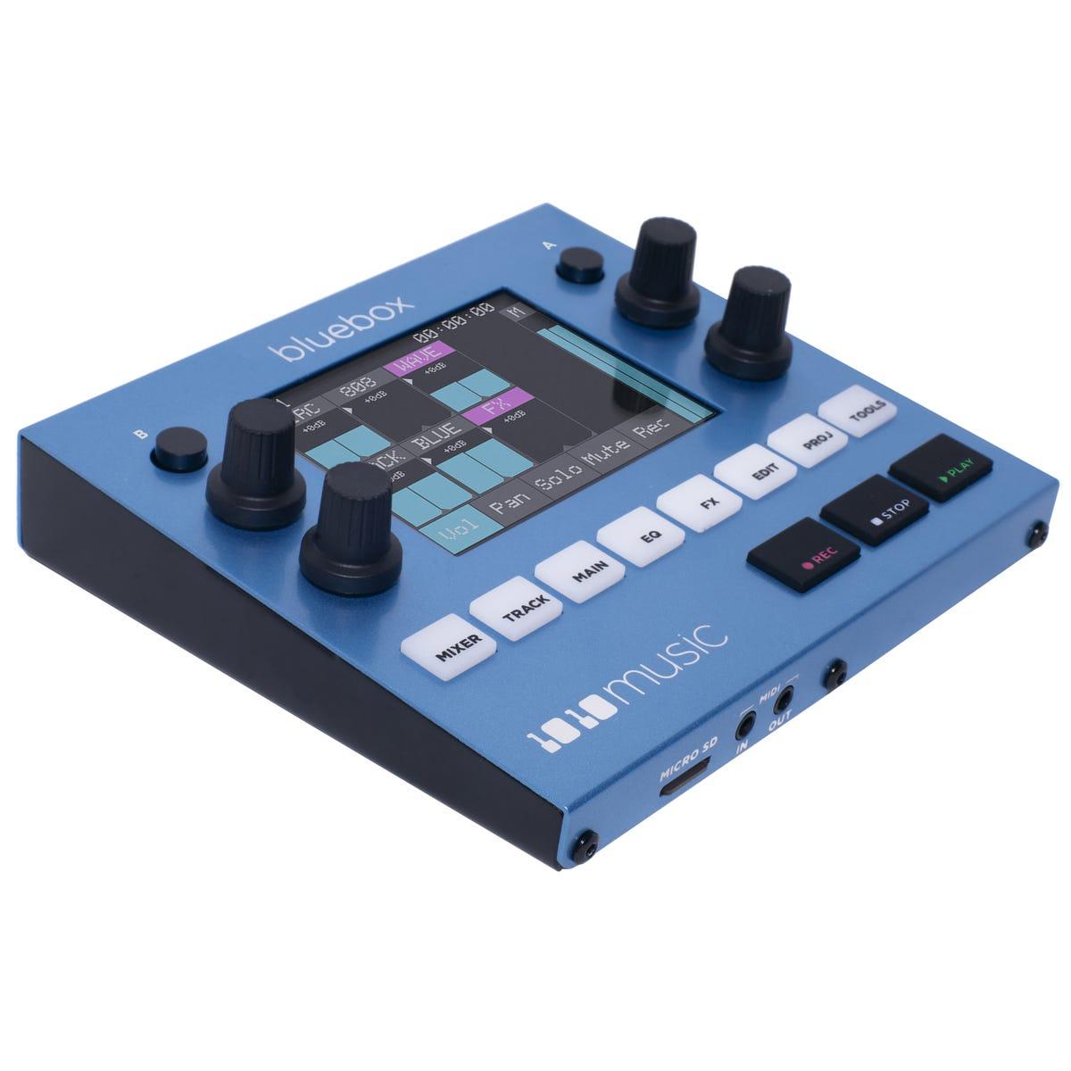 1010 Music Bluebox Compact Digital Mixer/Recorder