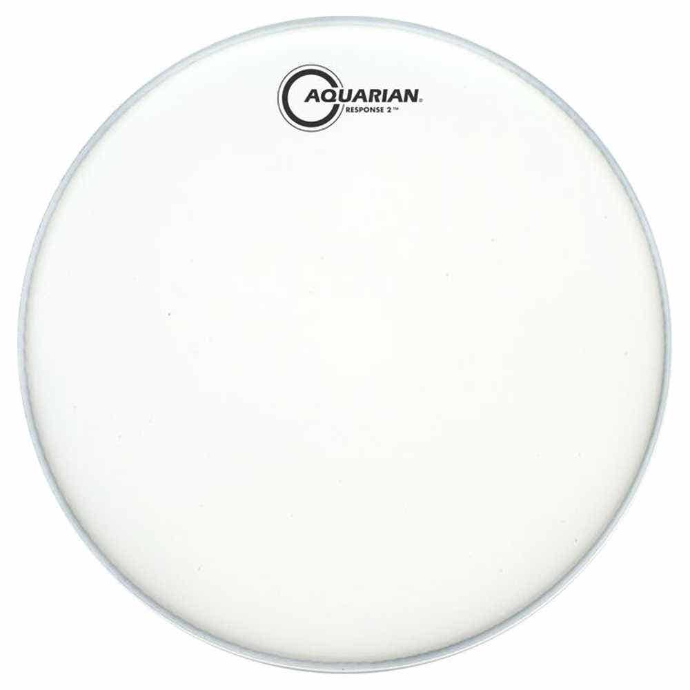 Aquarian 12 Inch Drum Head Coated 2 Ply Tcrsp2-12 Response 2