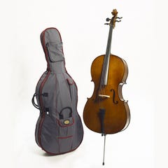 Stentor Student II Cello 4/4 size Outfit - Antique Chestnut