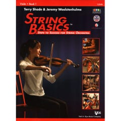 String Basics Violin / SHADE WOOLSTENHULME (KJOS)
