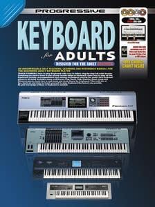 progressive keyboard for adults BK/DVD/CD /  (KOALA)
