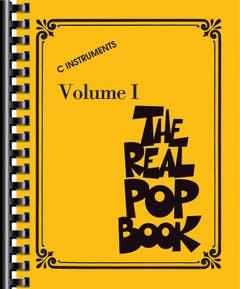 The Real Pop Book C Instruments /  (HAL LEONARD)