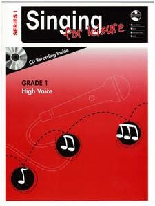 AMEB SINGING FOR LEISURE GR 1 SER 1 HIGH BK/CD / AMEB (AMEB)