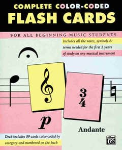 Colour Coded Flashcards 89 (Alfred)