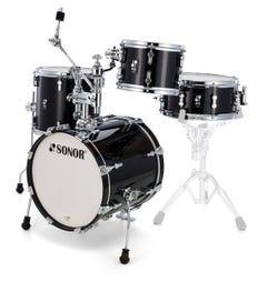 Sonor Safari AQ2 All-Maple Drum Shell Pack - Transparent Black