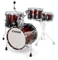 Sonor Safari AQ2 All-Maple Drum Shell Pack - Brown Fade