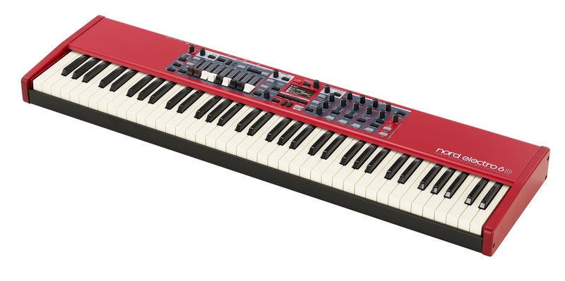 Nord Electro 6D 73-Key Semi-Weighted Waterfall Keyboard