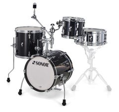 Sonor Martini AQ2 All-Maple Drum Shell Pack - Transparent Black