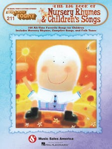 E-Z Play Today Volume 211 - The Big Book of Nursery Rhymes and Children's Songs