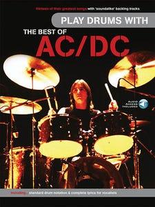 Play Drums With The Best Of ACDC Book and Online Audio (MUSIC SALES)