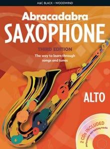 abracadabra saxophone BK/2CD 3rd edition / RUTLAND JONATHAN (A & C BLACK)