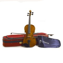 Stentor Student II 3/4 size Violin Outfit - Antique Chestnut