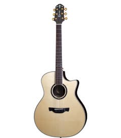 Crafter LX Series LX G-3000ce Acoustic Electric Guitar w/Case