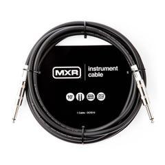 """MXR Standard 1/4"""" Jack-Jack Instrument Cable - 10ft"""