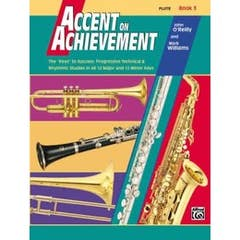 accent on achievement book 3 flute / OREILLY WILLIAMS (ALFRED)