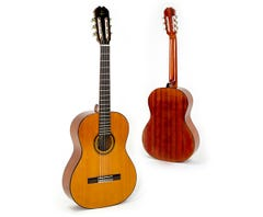 Admira Malaga Nylon String Classical Guitar - Natural Gloss (19500)