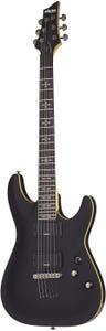 Schecter Demon-6 Electric Guitar - Aged Black Satin