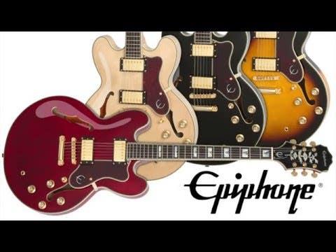 Epiphone Sheraton II PRO Semi-Hollow Electric Guitar - Ebony