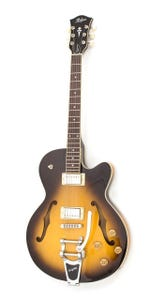 Hofner Thin President CT Semi-Hollow Electric Guitar - Sunburst