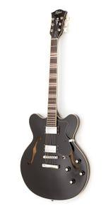 Hofner Contemporary Verythin Guitar - Black (HTC-VTH-BK)